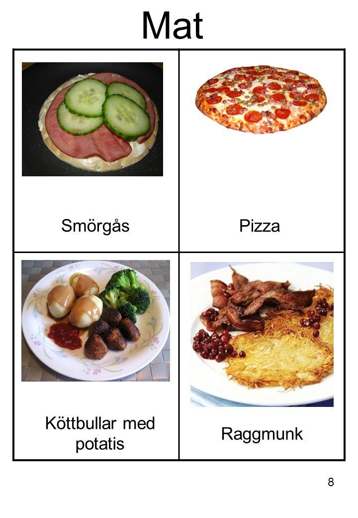 Mat Smörgås Pizza Raggmunk Köttbullar med potatis 8