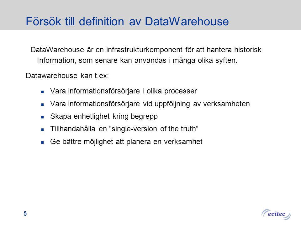 2014-08-23 Introduktion till Datawarehouse