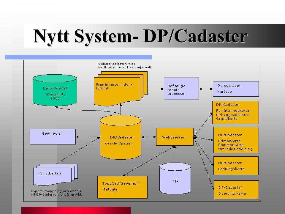 Nytt System- DP/Cadaster