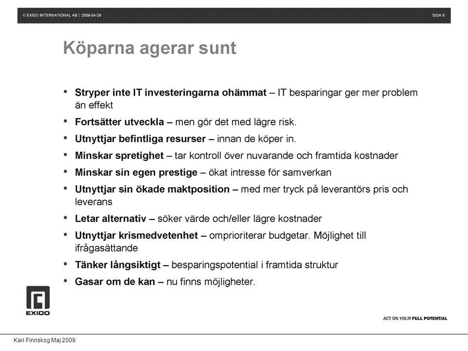 Kari Finnskog Maj 2009 Säkerhet Hot eller möjlighet.