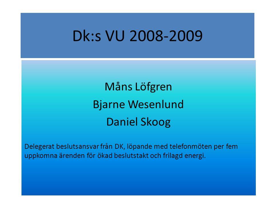 Ansvarsområden Måns Löfgren - Övergripande, styrelserepresentant, SIBF-repr.