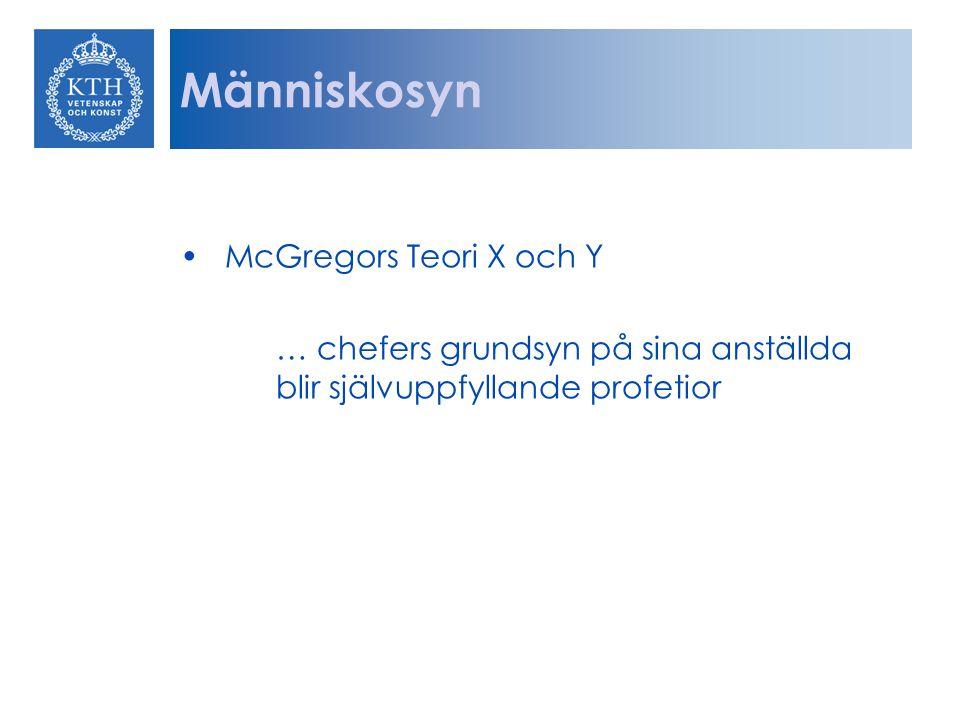 Arbetstillfredsställelse: Situationsteri Job characteristics model - Uppgiftsvariation - Uppgiftsidentitet - Uppgiftsbetydelse - Autonomi - Feedback Psykologiska kontrakt