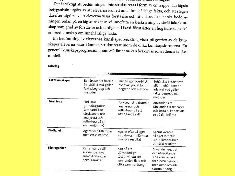 Formativ och summativ bedömning Formativ bedömning äger rum i samband med undervisning och används för att vägleda den.