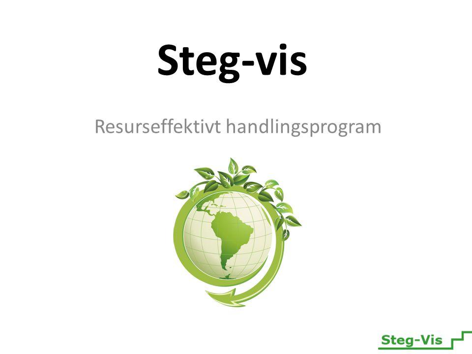 Steg-vis Resurseffektivt handlingsprogram