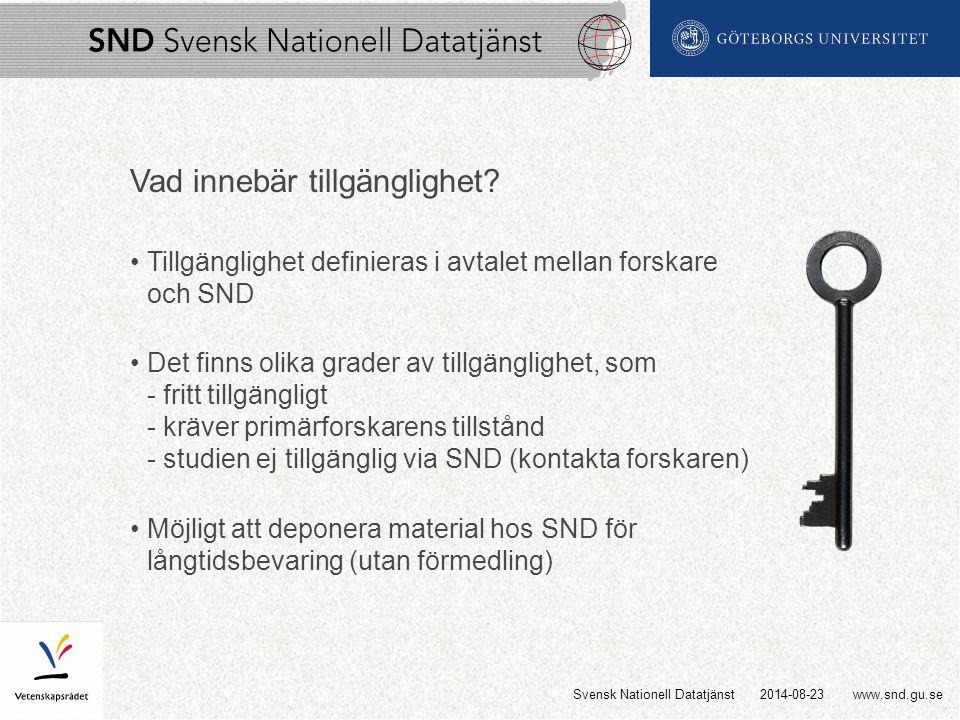 www.snd.gu.se Vad innebär tillgänglighet.