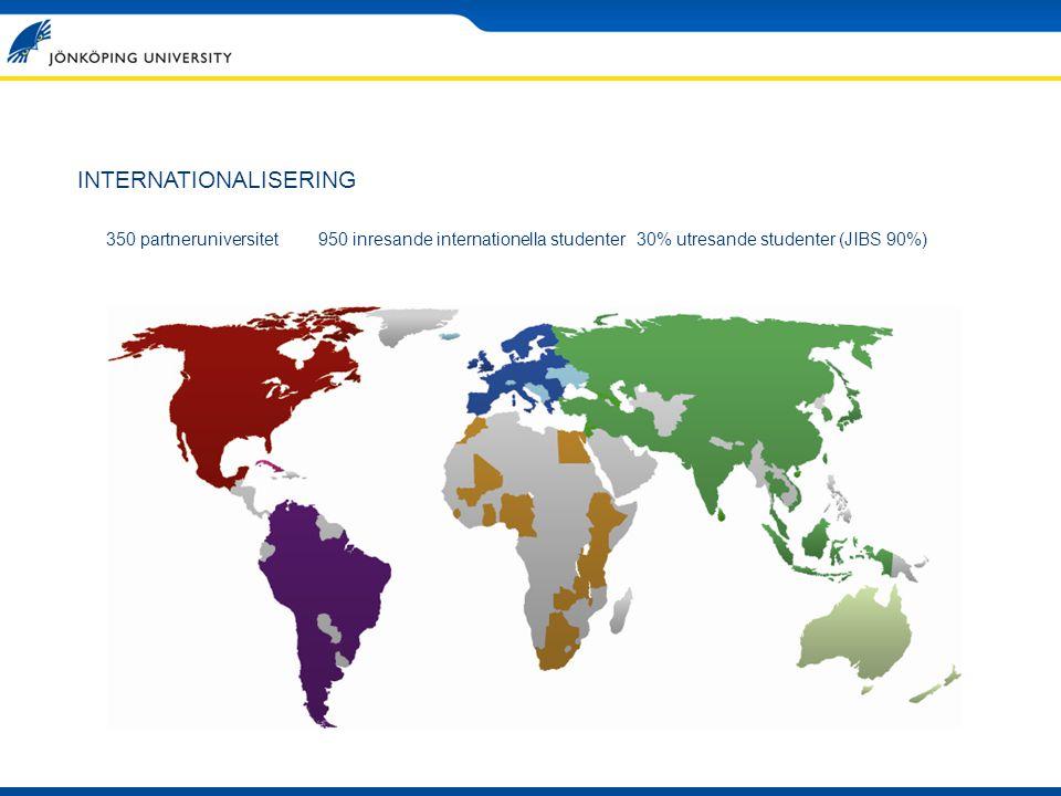 Varifrån kommer de internationella studenterna.
