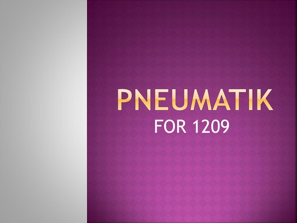  Pneumatik kallas i dagligt tal för tryckluftteknik.