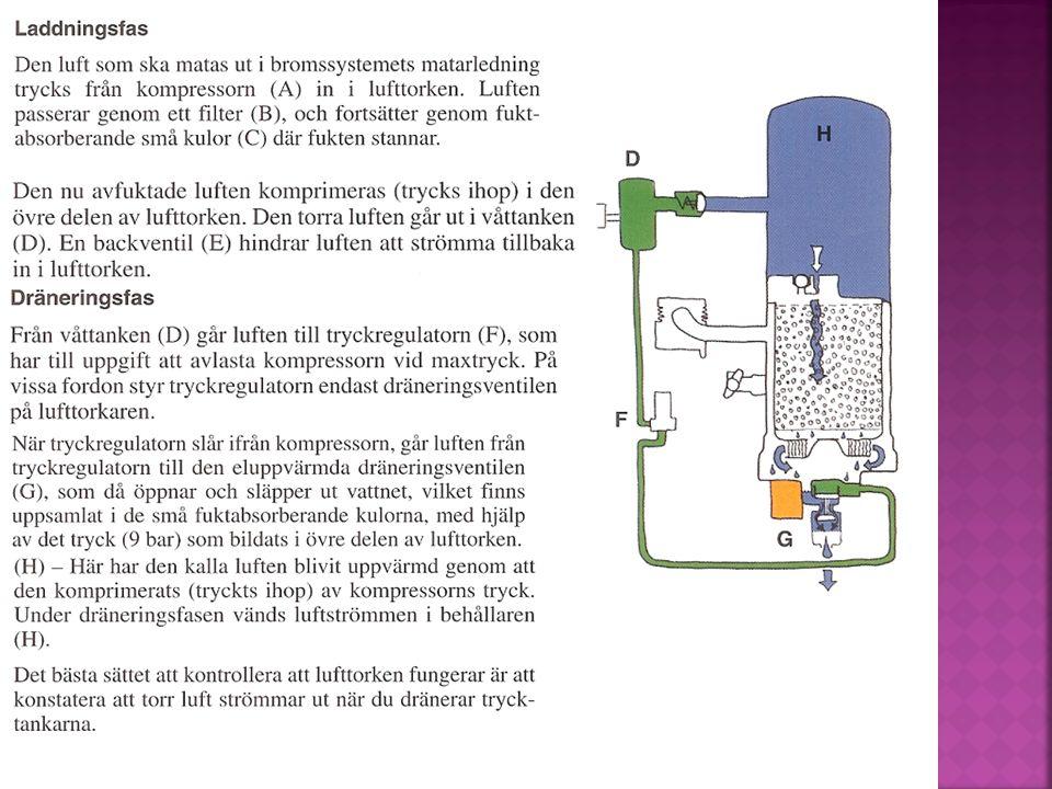 Lastkännande ventiler används för att anpassa bromstrycket efter last.
