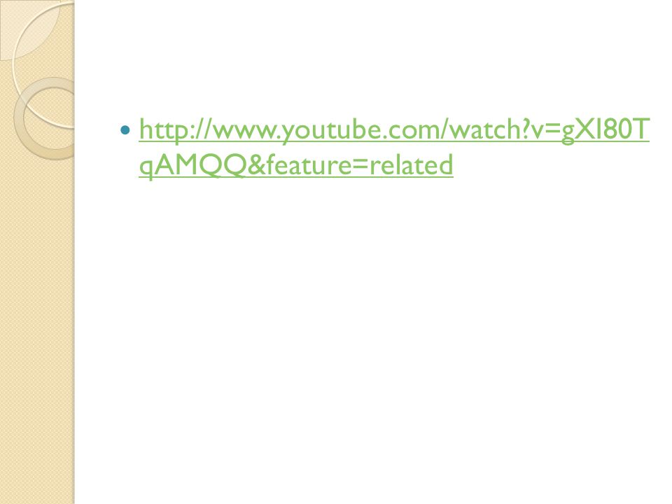http://www.youtube.com/watch?v=gXI80T qAMQQ&feature=related http://www.youtube.com/watch?v=gXI80T qAMQQ&feature=related