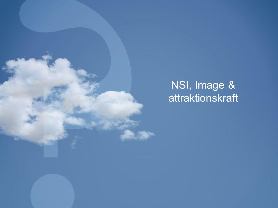 NSI, Image & attraktionskraft