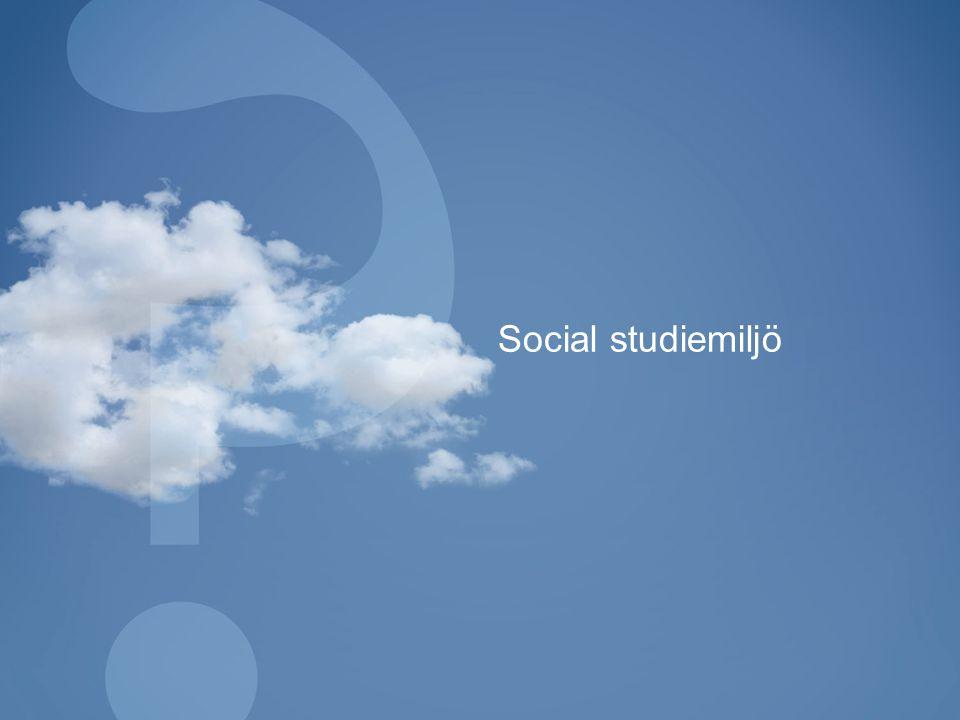 Social studiemiljö