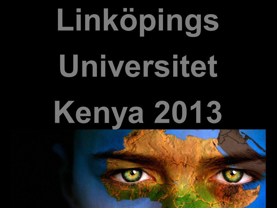 Linköpings Universitet Kenya 2013