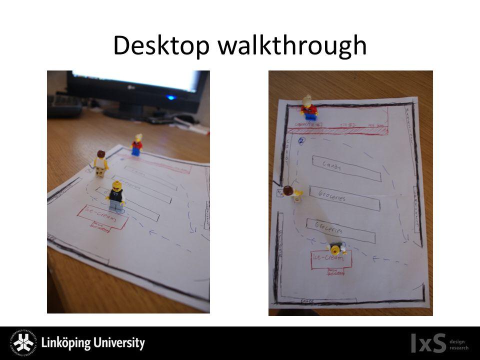 Desktop walkthrough