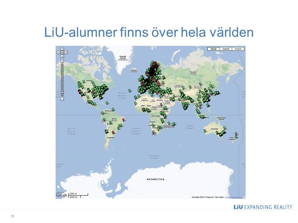 LiU-alumner finns över hela världen 11