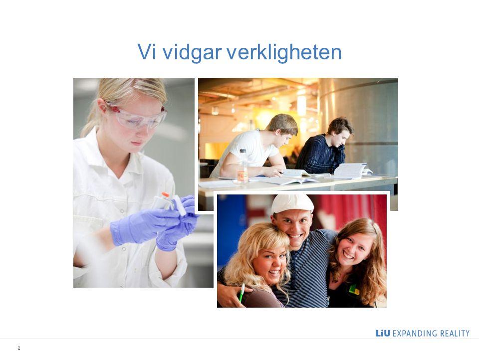 En förnyare av svensk högskoleutbildning Störst i landet på avancerade professionsutbildningar Ett campusuniversitet med populära program Studenter eftertraktade på arbetsmarknaden 3