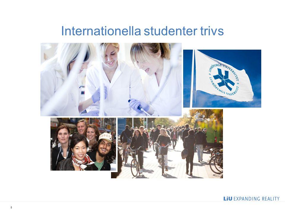 6 Enda lärosätet i Sverige med bred lärarutbildning som direkt fick klartecken för samtliga utbildningar LiU bäst i klassen