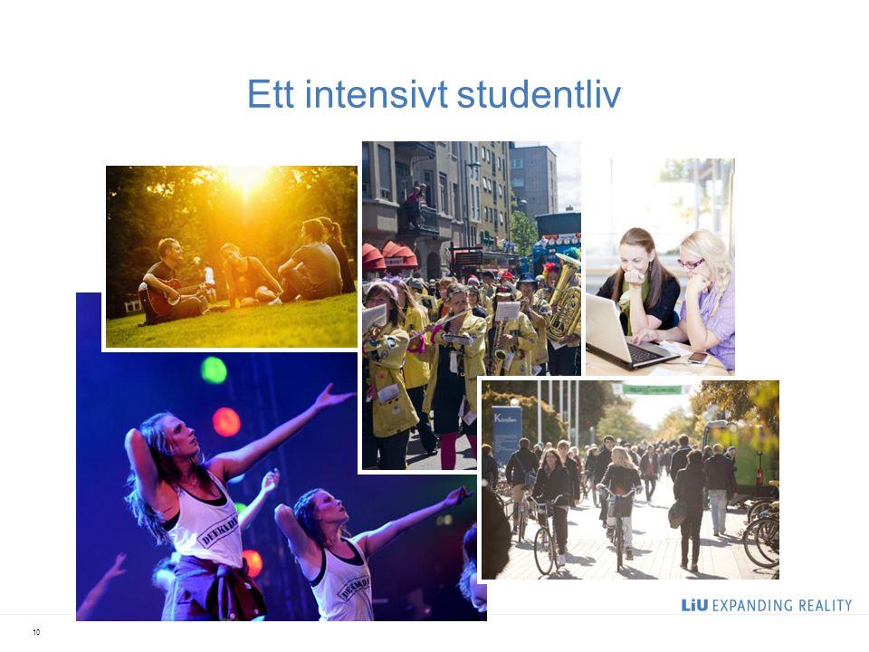 Ett intensivt studentliv 10
