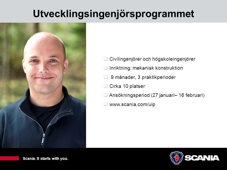 Utvecklingsingenjörsprogrammet 10  Civilingenjörer och högskoleingenjörer  Inriktning: mekanisk konstruktion  9 månader, 3 praktikperioder  Cirka