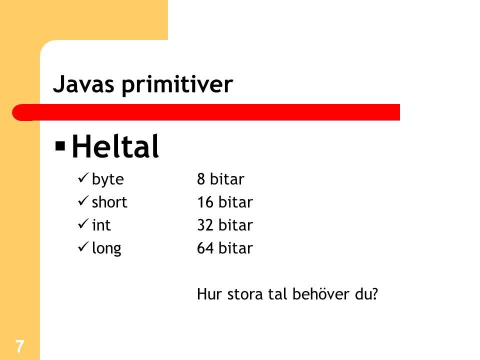 Metoder Metod = ett kodblock som utför en uppgift En metod har returtyp eller void En metod kan ha inparametrar Exempel: public int addera(int a, int b) { return a + b; } 18