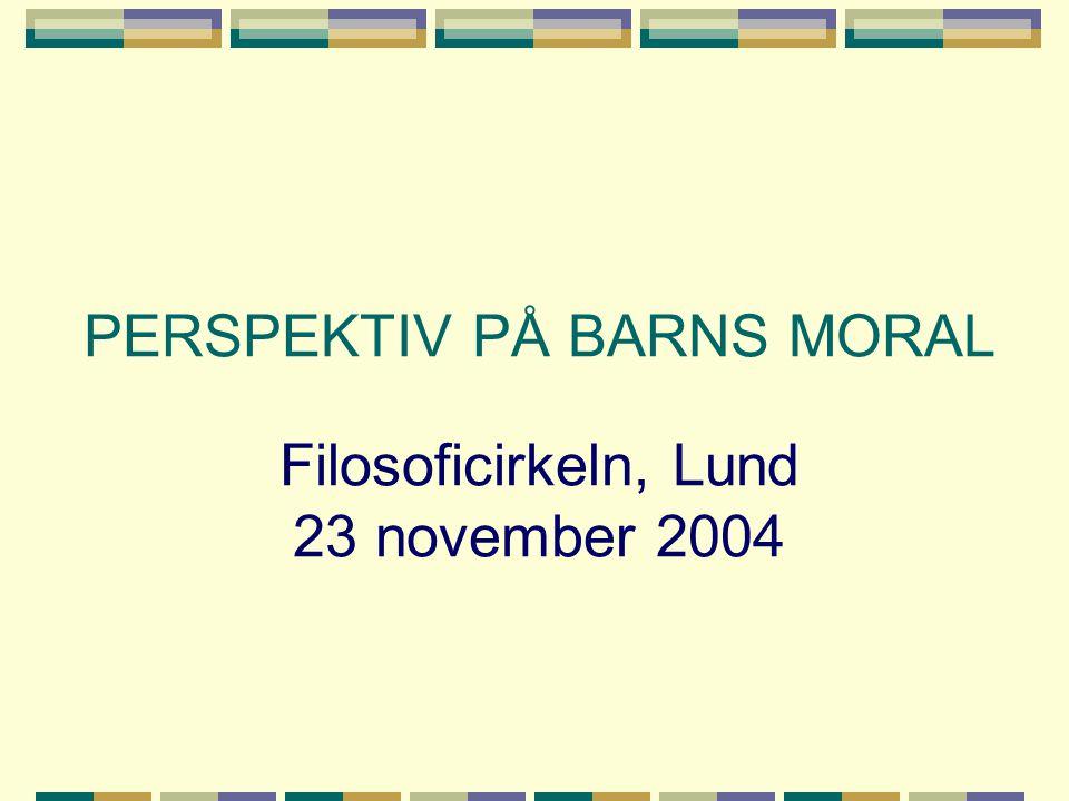EN TREFALDIG KOPERNIKANSK VÄNDNING A.