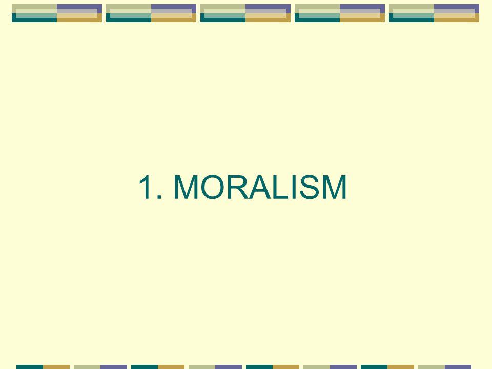 URMINNES MORALISM 1 Vår ungdom är rutten ända från djupet av sina hjärtan.