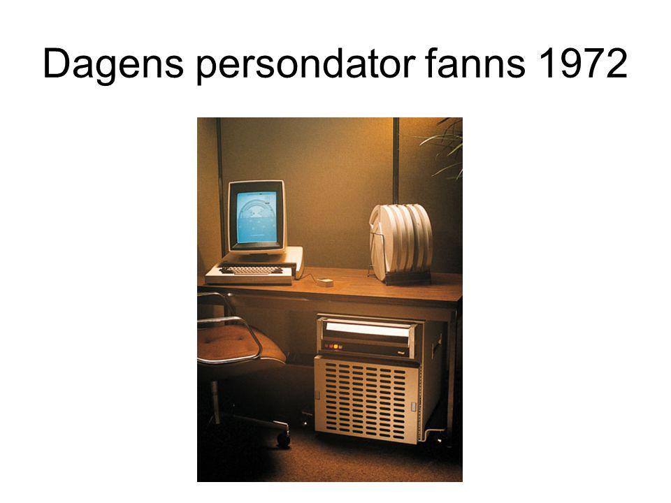 Dagens persondator fanns 1972