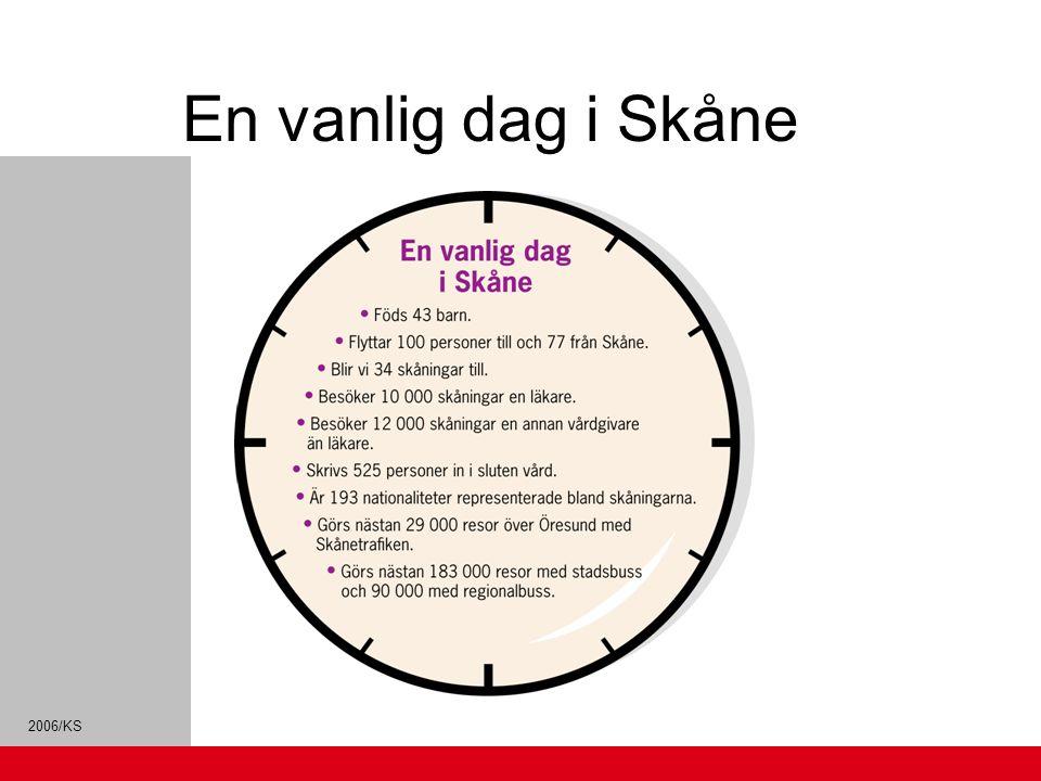 2006/KS Region Skånes ekonomi Region Skåne visar för fjärde året i rad ett positivt resultat.