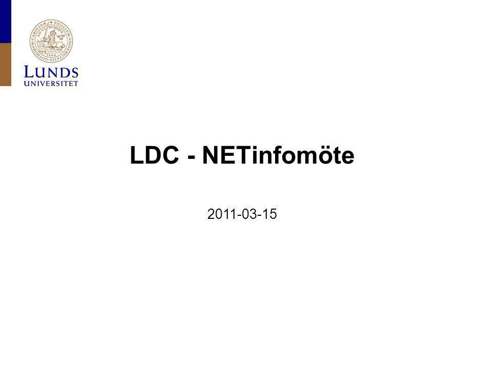LDC - NETinfomöte 2011-03-15