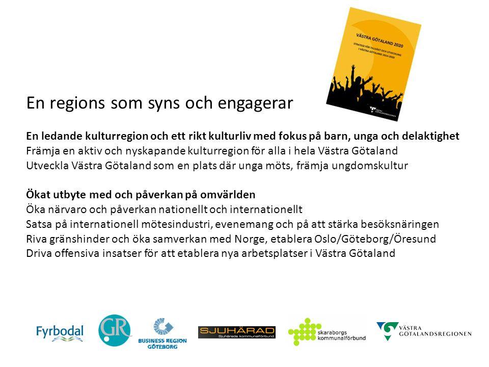 Västra Götaland 2020 - Mål på samhällsnivå