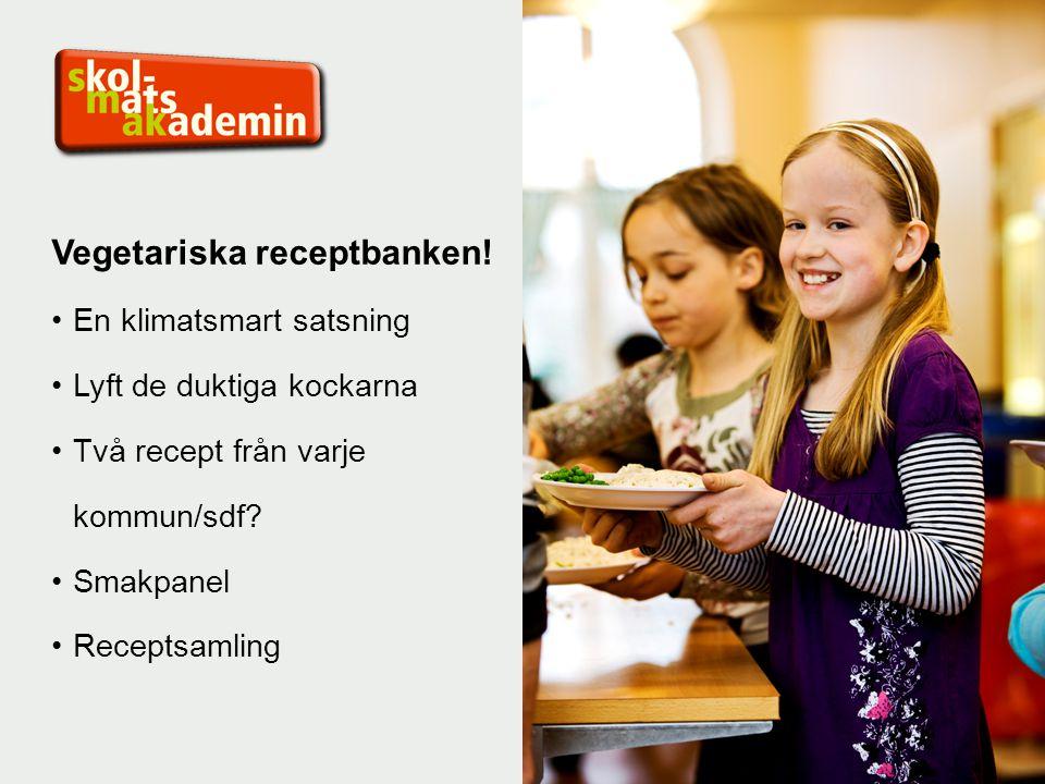 Vegetariska receptbanken.