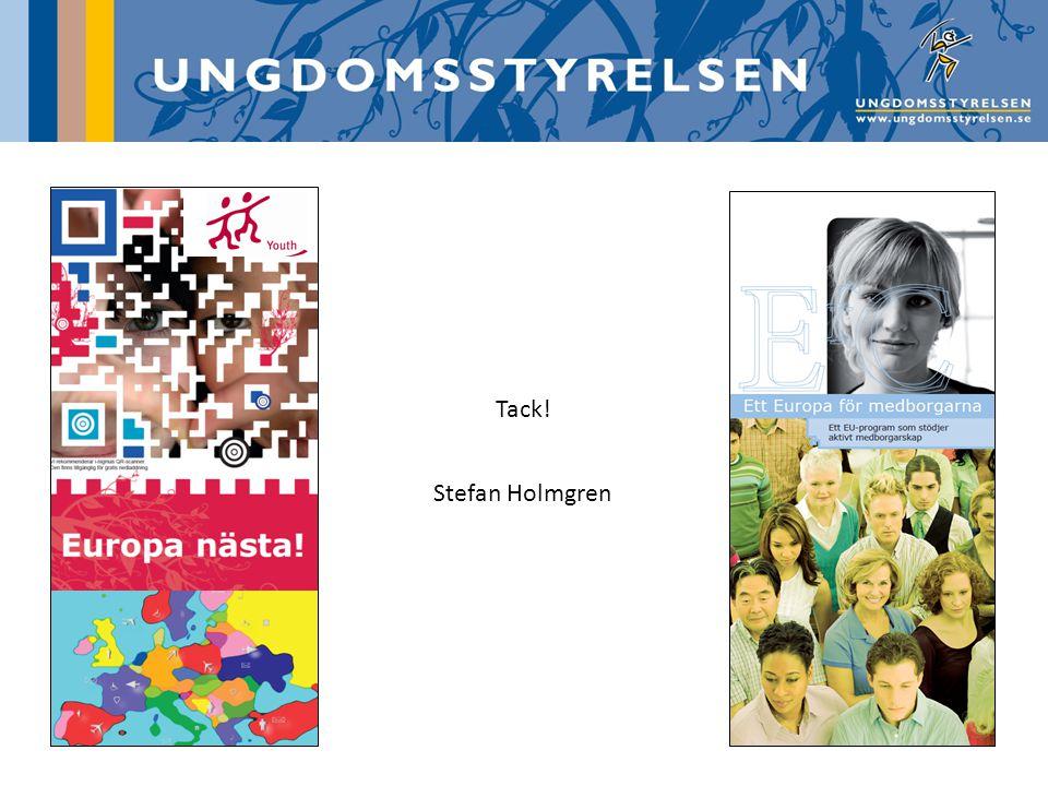 Tack! Stefan Holmgren