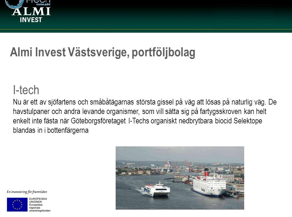 Almi Invest Västsverige, portföljbolag I-tech Nu är ett av sjöfartens och småbåtägarnas största gissel på väg att lösas på naturlig väg. De havstulpan