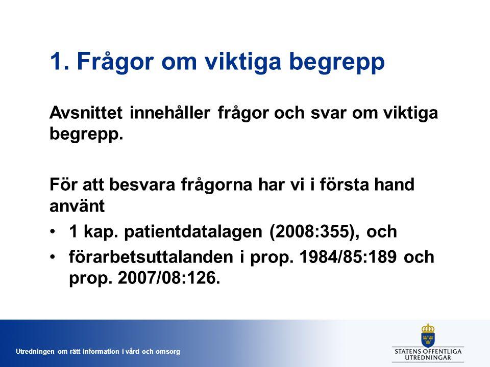 Utredningen om rätt information i vård och omsorg Får kommunens hemsjukvård och kommunens hemtjänst dokumentera i samma journal.