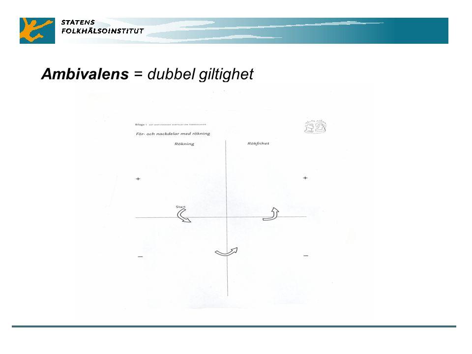 Ambivalens = dubbel giltighet