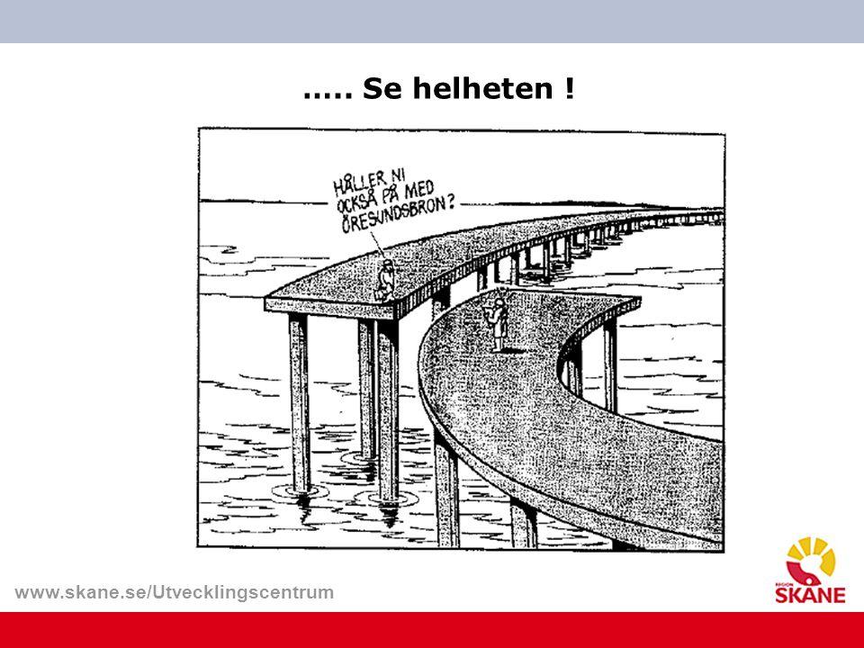 www.skane.se/Utvecklingscentrum tid ….. Se helheten !