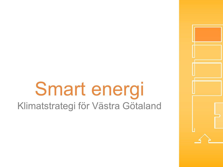 Smart energi Klimatstrategi för Västra Götaland