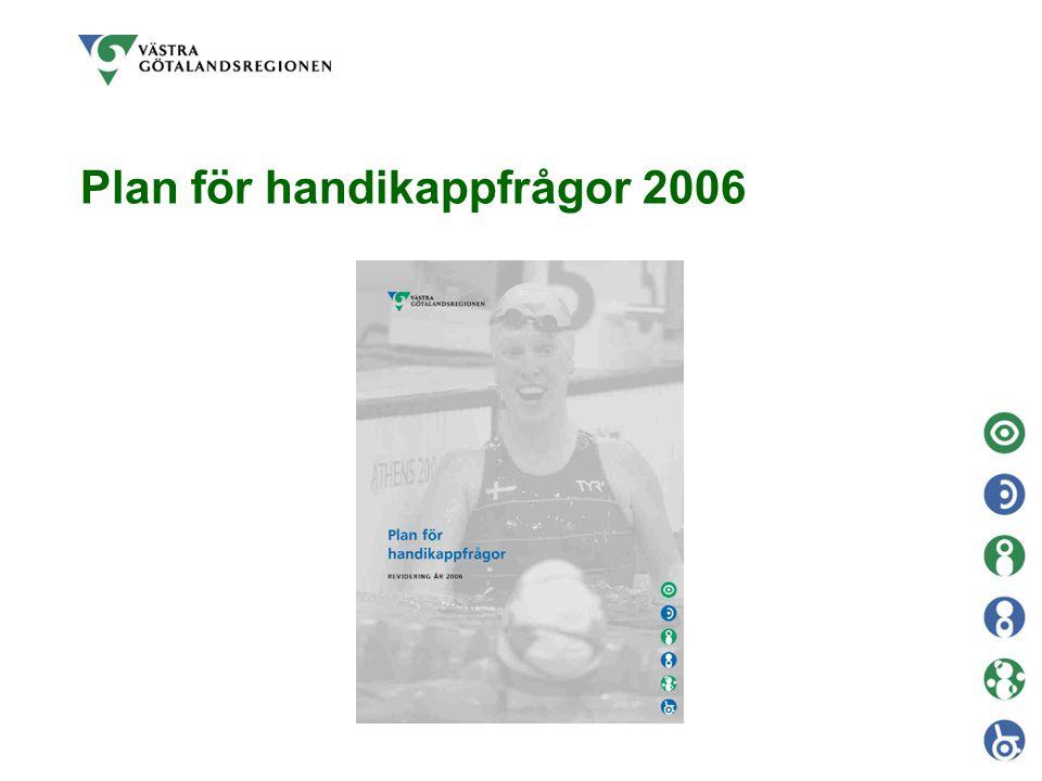 Utgångspunkter  Lagstiftning  Nationella handlingsplanen för handikappolitiken  Regionens mål samt policy för handikappfrågor  Samverkan