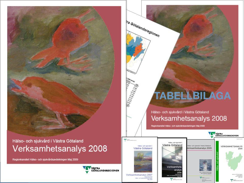 Verksamhetsanalys 2008 www.vgregion.se 2