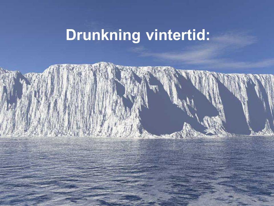 Drunkning vintertid:
