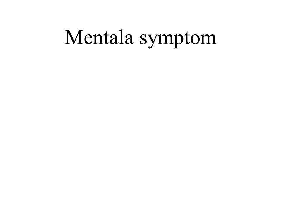 Mentala tillstånd Kognition: Jag tror - jag vet- jag förnimmer - jag uppfattar – jag har förmågan – jag minns… Motivation: Jag vill, jag önskar… Emotion: Jag känner, jag är rädd, jag är ledsen, jag är glad..