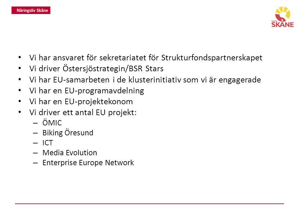 Vilka praktiska exempel på intressebevakning/påverkansinsatser och/eller europeiska samarbeten/projekt har förvaltningen.
