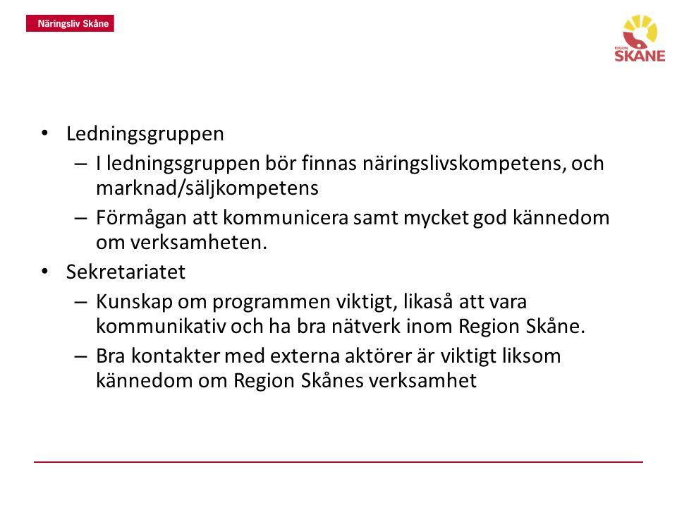 Vilka aktörer/organisationer i Skåne är viktigast att samverka med.
