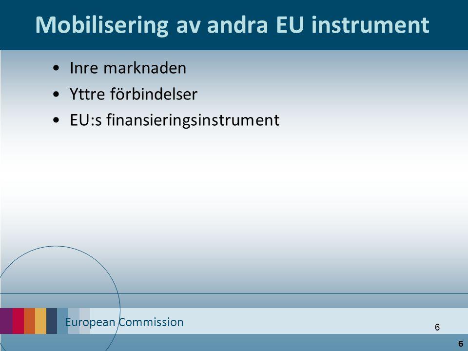 European Commission 7 Starkare ekonomisk samordning & styrning 7
