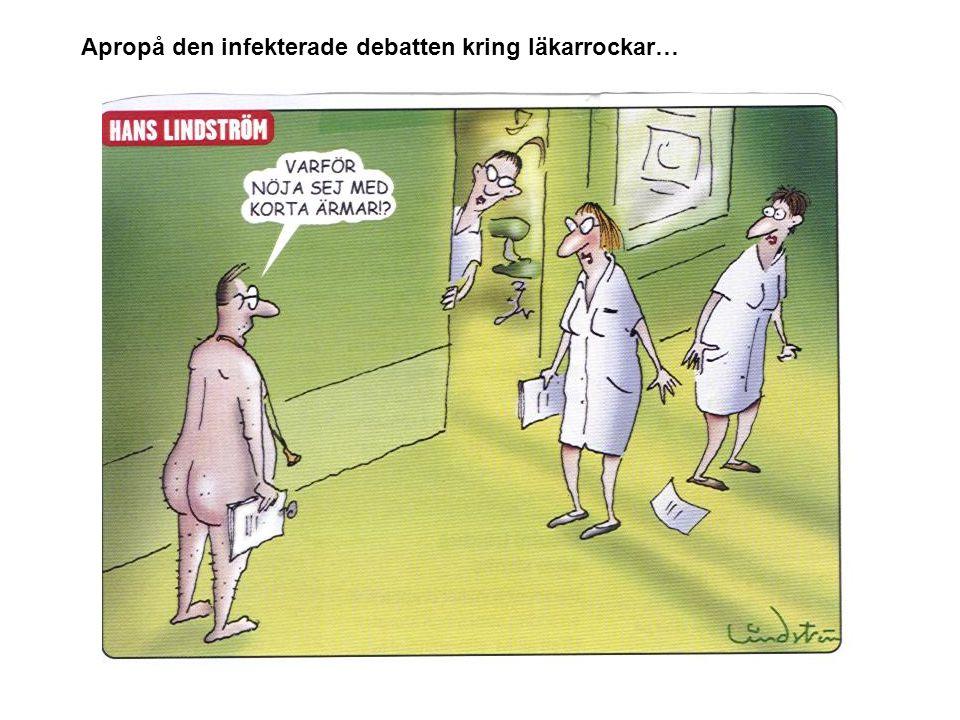 Apropå den infekterade debatten kring läkarrockar…
