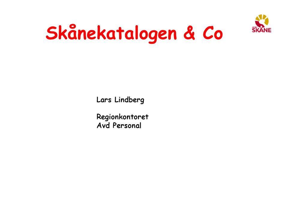 Skånekatalogen & Co Större förändringar Ny adminLewa Siemens (katalog) Nordic Edge (presentation) Skånekatalog åtkomst (DMZ) Stark autentisering