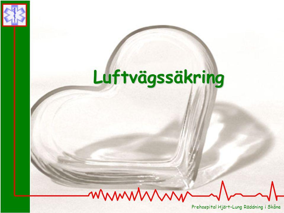 Prehospital Hjärt-Lung Räddning i Skåne Luftvägssäkring