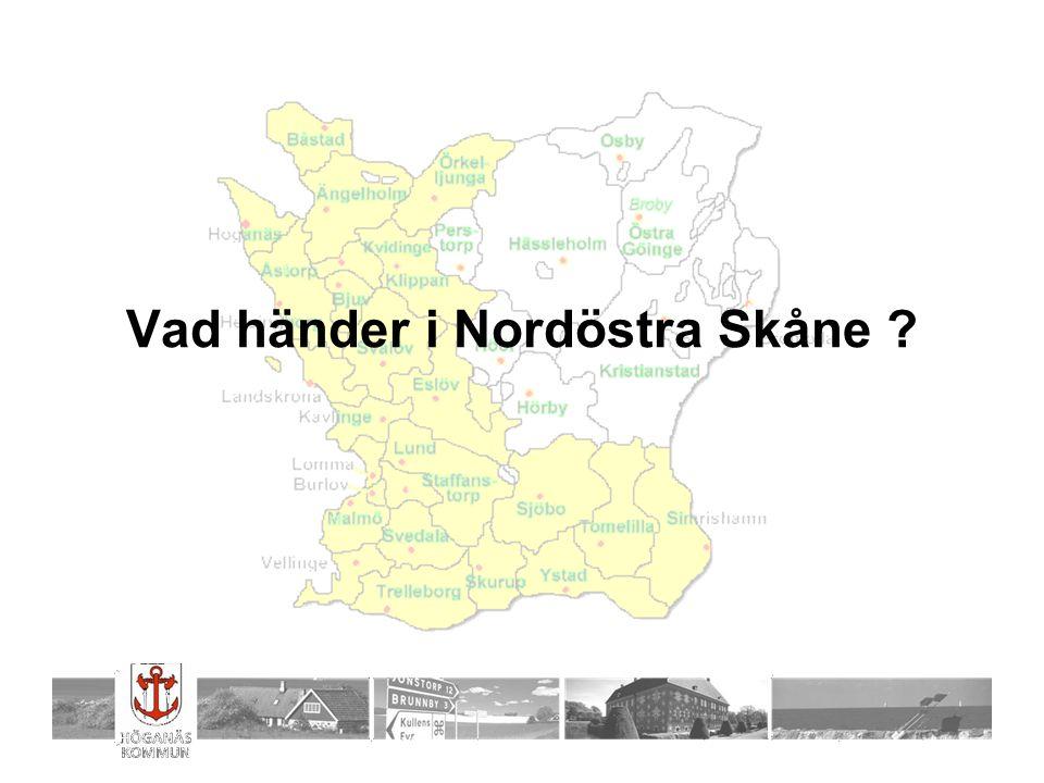 Vad händer i Nordöstra Skåne ?