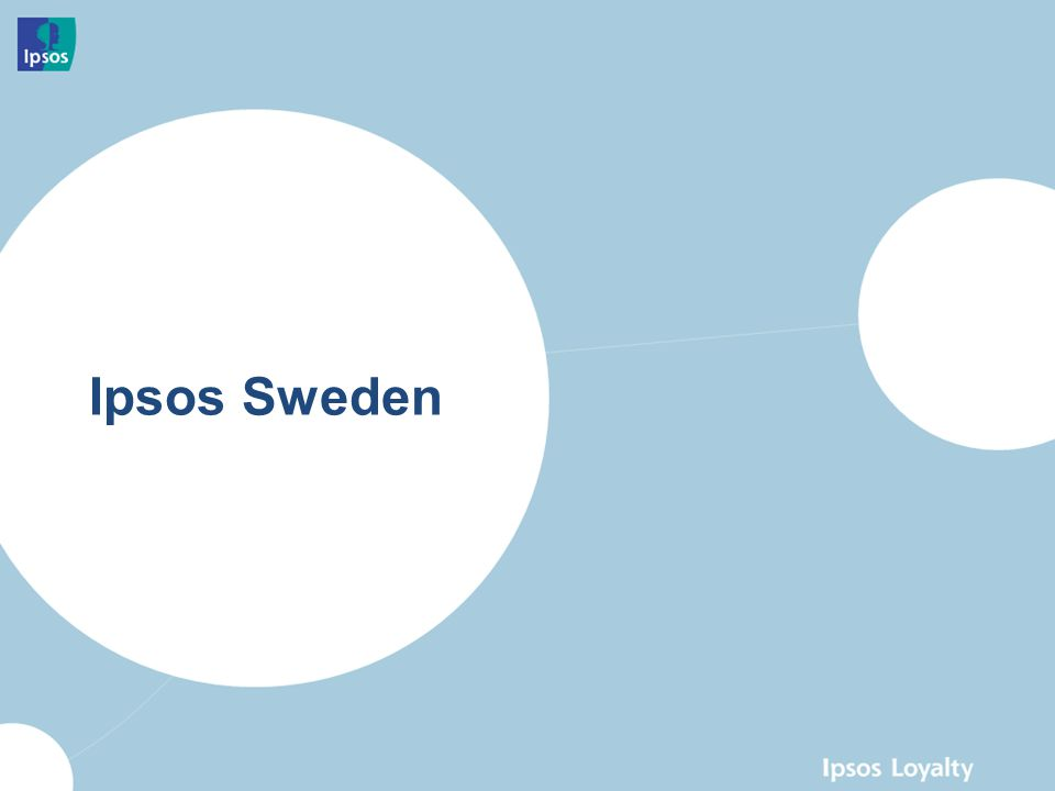 Ipsos Sweden