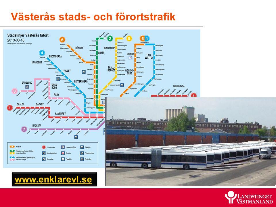 Västerås stads- och förortstrafik www.enklarevl.se