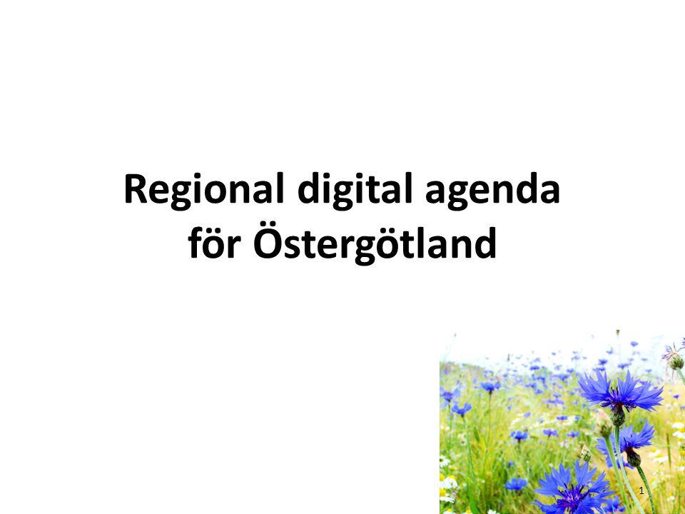 Regional digital agenda för Östergötland 1